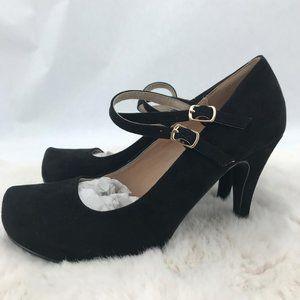 JustFab Rayna Pumps: Black | Size 8